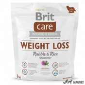 Brit Care Weight Loss Iepure si Orez 1kg
