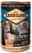 Carnilove Wild Meat Adult Somon si Curcan 400g
