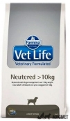 Vet Life Dog Neuterted >10kg 12kg