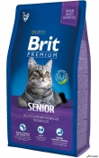 Brit Premium Cat Senior 8kg