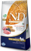 N&D Low Grain Miel si Afine Adult Mini 2.5kg