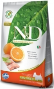 N&D Grain Free Peste si Portocala Adult Mini 2.5kg