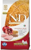 N&D Low Grain Pui si Rodie Adult Mini 7kg