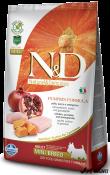 N&D Grain Free Dovleac Pui si Rodie Adult Mini 7kg