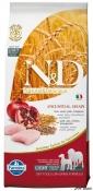 N&D Low Grain Pui si Rodie Light Medium si Maxi 12kg