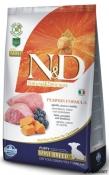 N&D Grain Free Dovleac Miel si Afine Puppy Mini 2.5kg