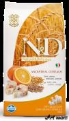 N&D Low Grain Peste si Portocale Adult Maxi 12kg