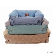 Culcus pentru Caini si Pisici Leo S 90x60x14cm