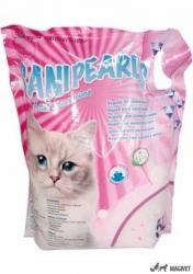 Asternut Igienic Silicat SaniPearls, Perle Roz, 5l