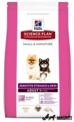 Hill's Adult Small and Miniature Sensitive Stomach and Skin 1.5kg