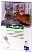 Advantage 80 Pisici/Iepuri 4 Pipete