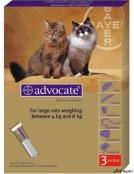 Advocate Cat 4-8kg 3 Pipete