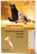 Advocate Cat 0-4kg 3 Pipete