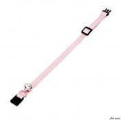 Zgarda Flamingo Light Pink cu Clopotel pentru Pisici 30cm