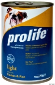 ProLife Dog Adult Light C&R 400g