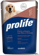 ProLife Dog Plic Cerb/Rata/Orez/Ananas 300g