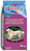 Very Dog Adult Mini Miel si Orez 20kg