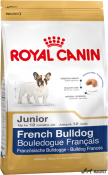 Royal Canin Bulldog Francez Junior 3kg