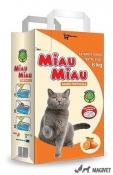 Nisip Pisici Miau Miau Portocale 6kg