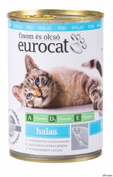 EuroCat Conserva Pisici Peste 415g